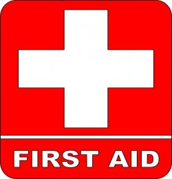 Red Cross clipart first aid box