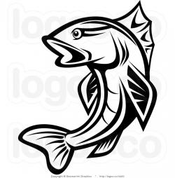 Trout clipart bass fishing