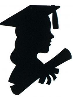 Shaow clipart graduation