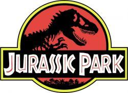 Logo clipart jurassic park
