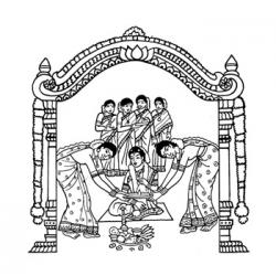 Gallery clipart indian marriage