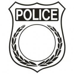 Police clipart police badge