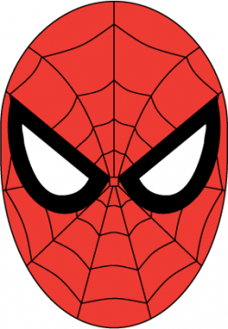 Spider-Man clipart spiderman face