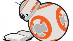 Star Wars clipart reading