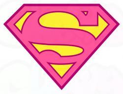 Logo clipart supergirl