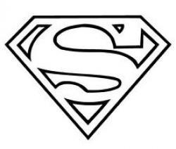 Logo clipart superman