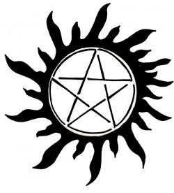 Pentagram clipart supernatural