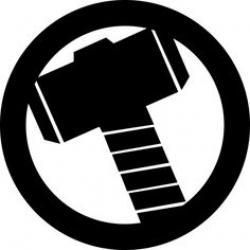 Logo clipart thor