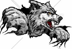 Claws clipart wolf