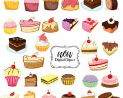 Frosting clipart baked sweet