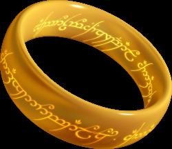 Hobbit clipart ring
