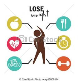 Loss clipart lose weight