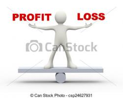 Loss clipart net income