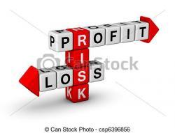 Loss clipart profit and loss