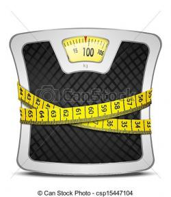 Loss clipart weight scale