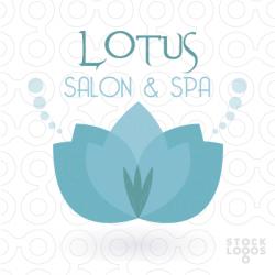 Lotus clipart salon spa