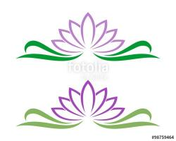 Lotus clipart spa treatment