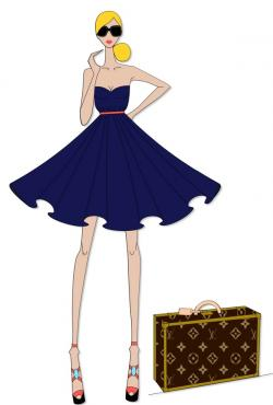 Louis Vuitton clipart clothing