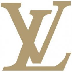 Louis Vuitton clipart gold