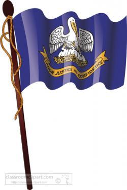 Louisiana clipart Louisiana Flag Clipart
