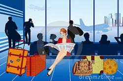 Airport clipart lounge