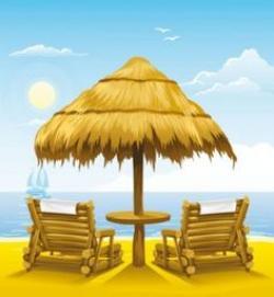 Lounge clipart sunny season