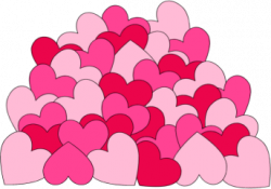 Hearts clipart bunch