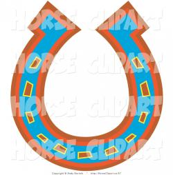 Horseshoe clipart upside down