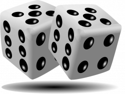 Dice clipart magic