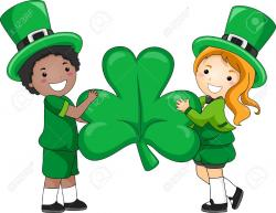 Irish clipart child