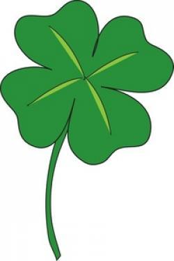 Luck clipart clover