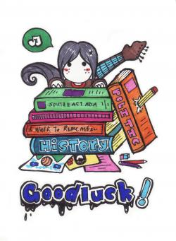 Luck clipart final exam
