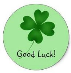 Luck clipart four leaf clover