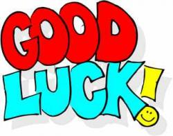Luck clipart good luck