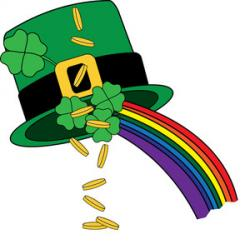 Luck clipart leprechaun