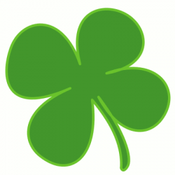 Luck clipart shamrock