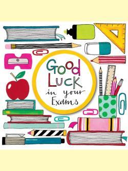 Luck clipart student exam