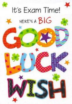 Luck clipart testing