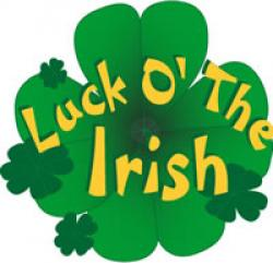 Luck clipart the irish