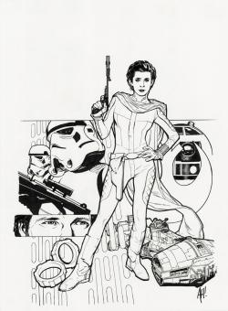 Luke Skywalker clipart adam hughes