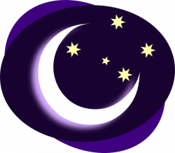 Moonlight clipart crescent moon