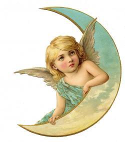Fallen Angel clipart victorian angel