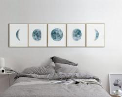 Lunar clipart bed