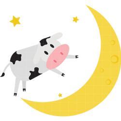 Lunar clipart cow