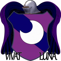 Lunar clipart crest