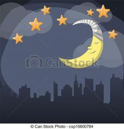 Lunar clipart evening