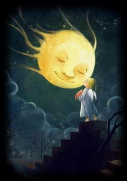 Lunar clipart goodnight moon