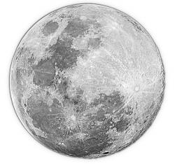 Lunar clipart gray