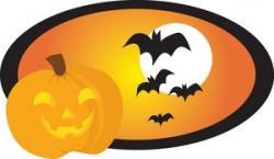 Vampire clipart halloween full moon
