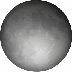 Lunar clipart illustration